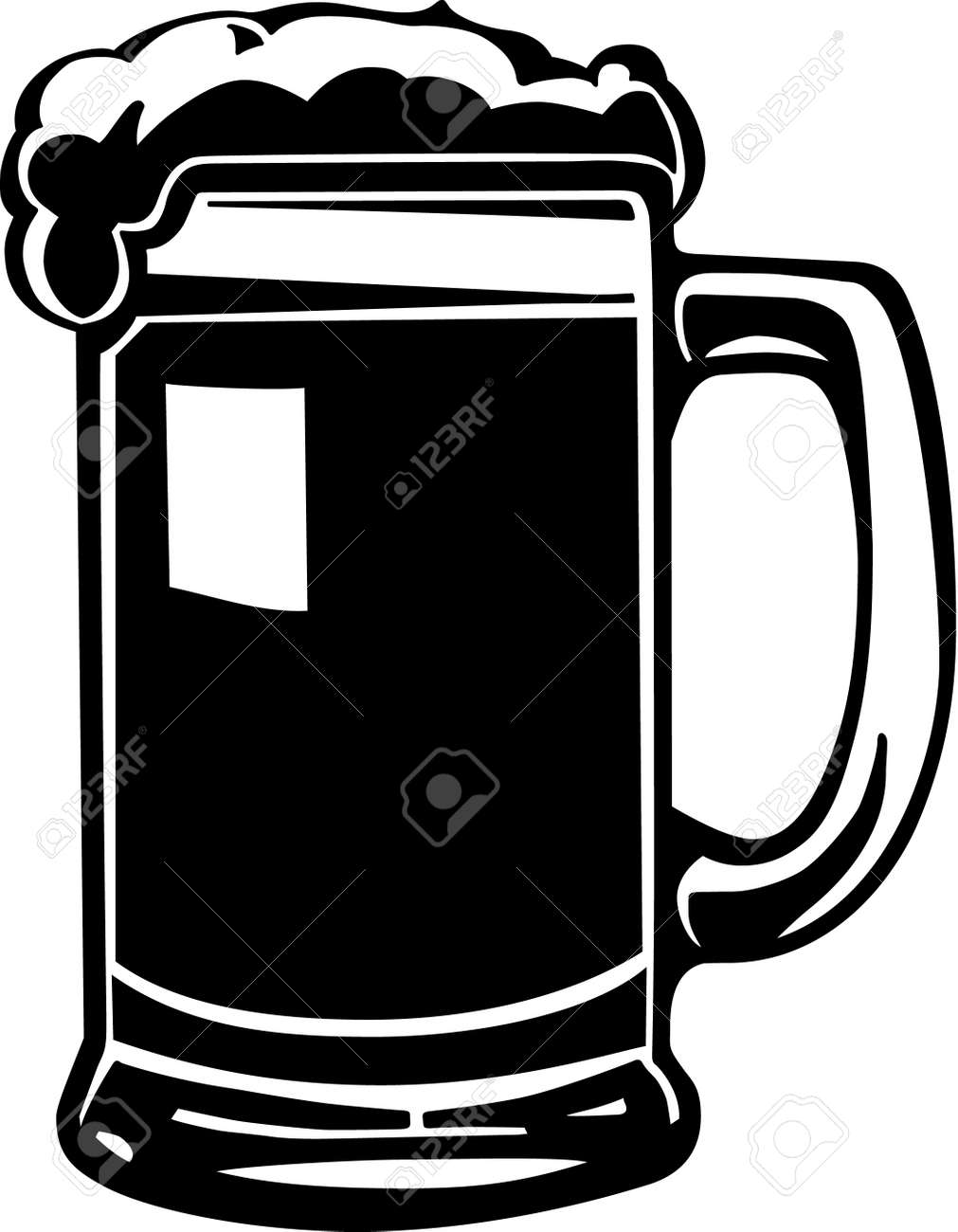 beer mug royalty free cliparts vectors and stock illustration rh 123rf com beer stein clipart black and white german beer stein clipart