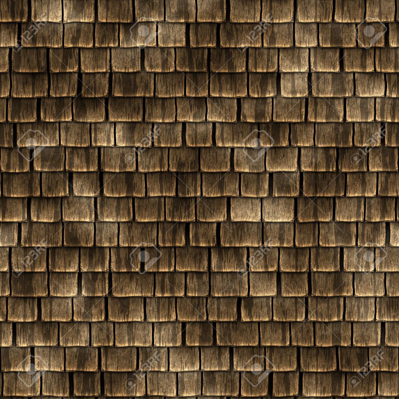 Wood Roof Shingles Texture