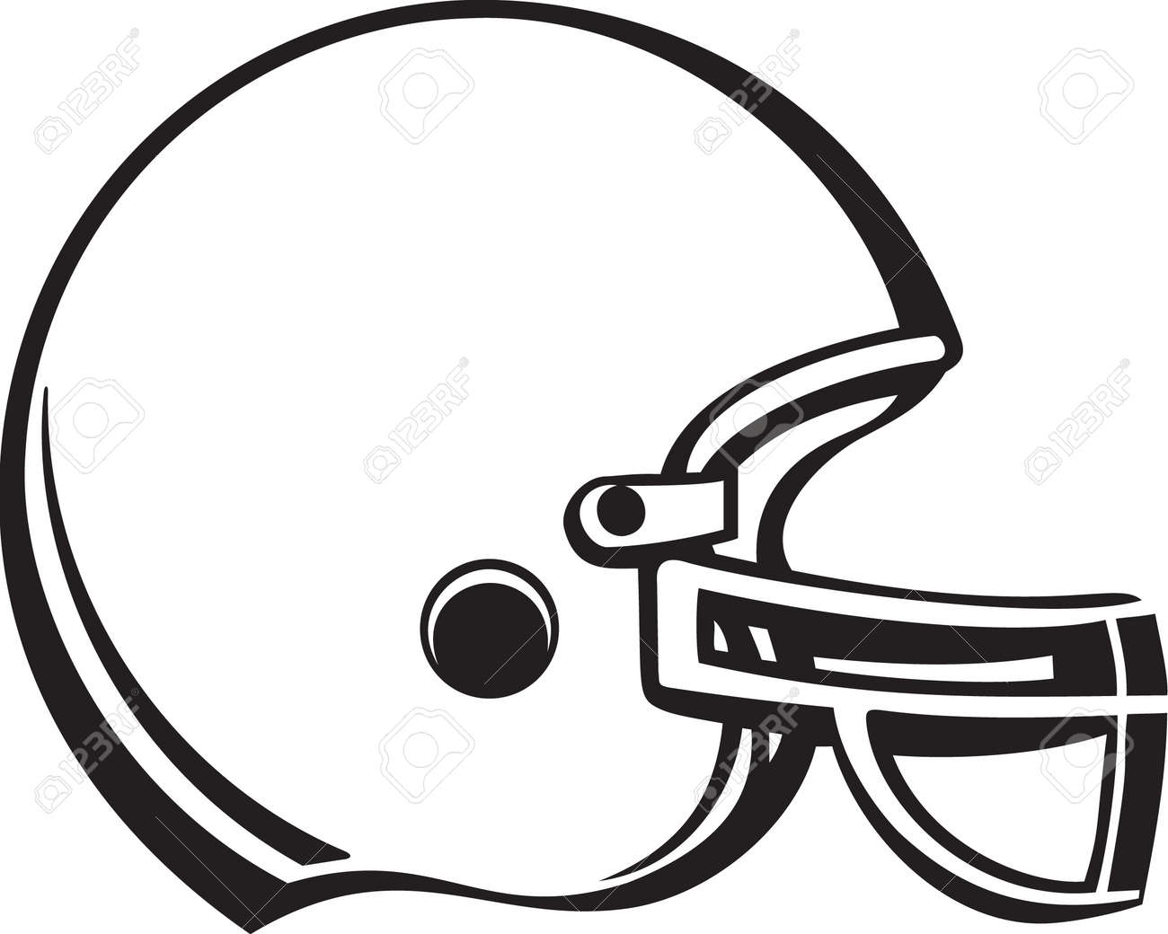 football helmet vinyl ready royalty free cliparts vectors and rh 123rf com