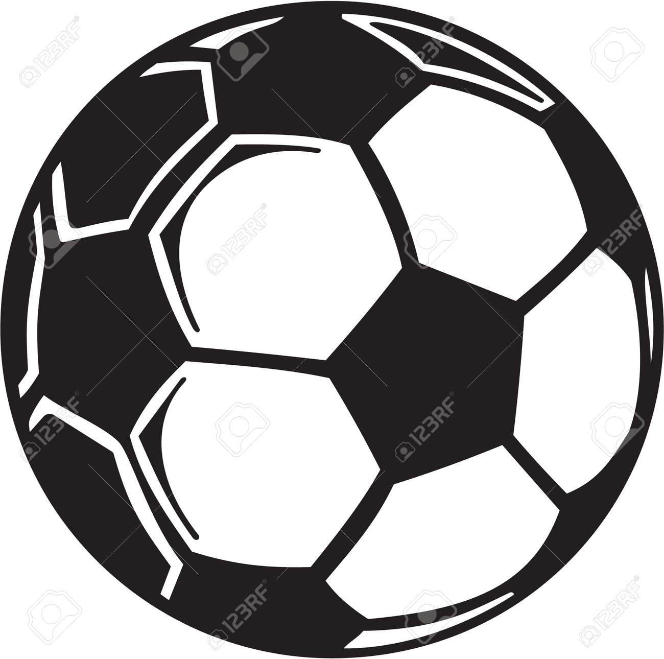 soccer ball vinyl ready royalty free cliparts vectors and stock rh 123rf com