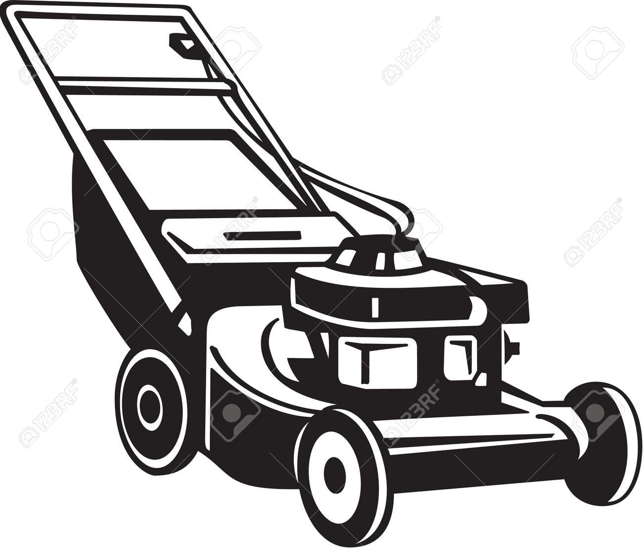 lawn mower : Power Lawnmower