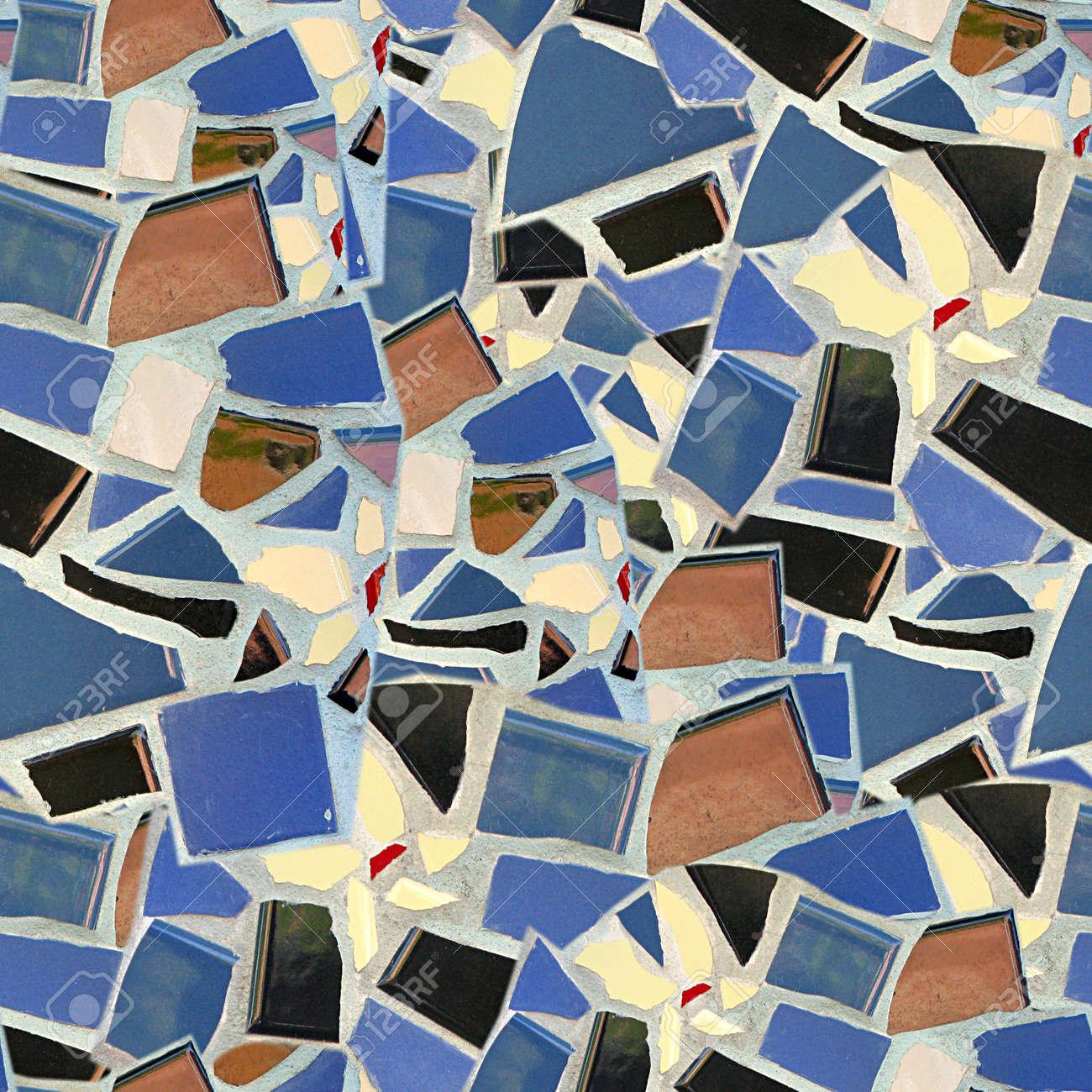 Broken tile mosaic seamless texture tile stock photo picture and broken tile mosaic seamless texture tile stock photo 14215910 dailygadgetfo Image collections