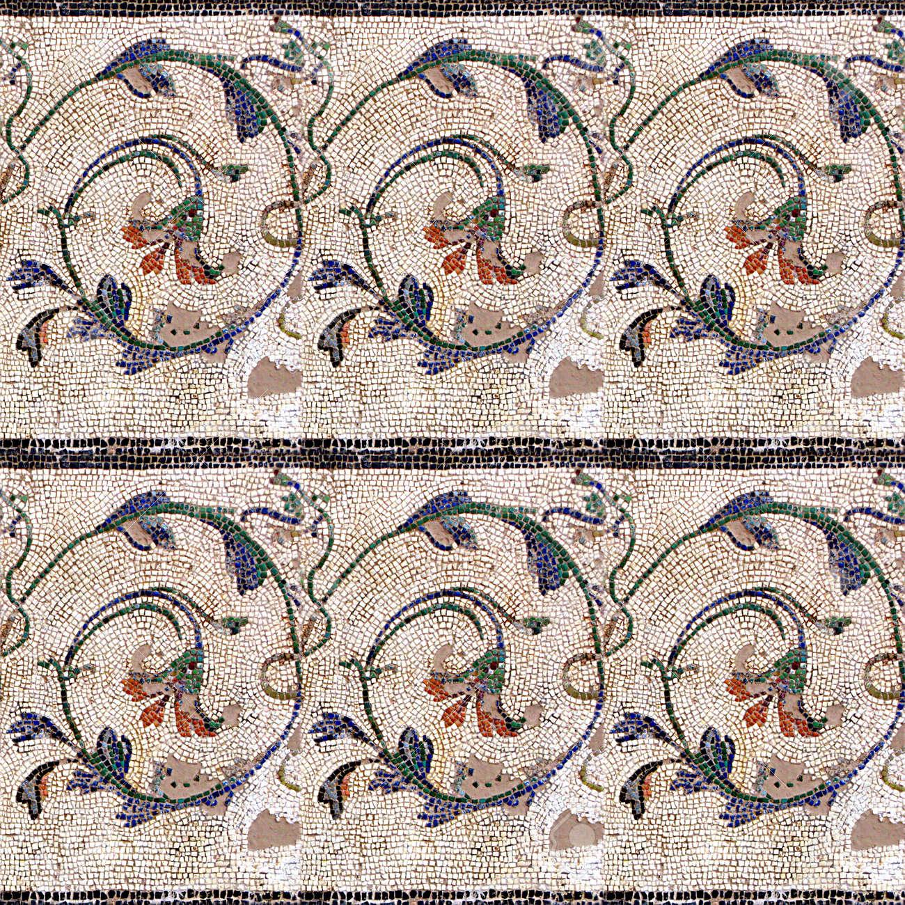 Mosaic Seamless Texture Tile Stock Photo - 14215927