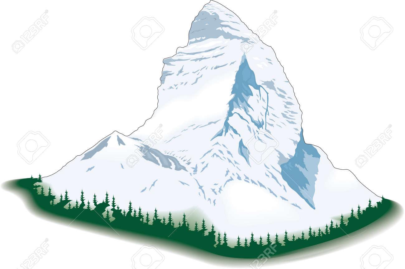 matterhorn illustration royalty free cliparts vectors and stock