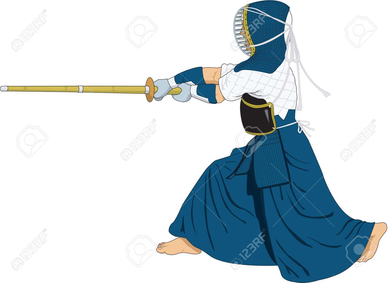 剣道イラストのイラスト素材ベクタ Image 84149629