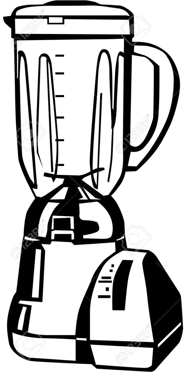 Kitchen Blender Illustration Royalty Free Cliparts Vectors And Stock Illustration Image 86300574
