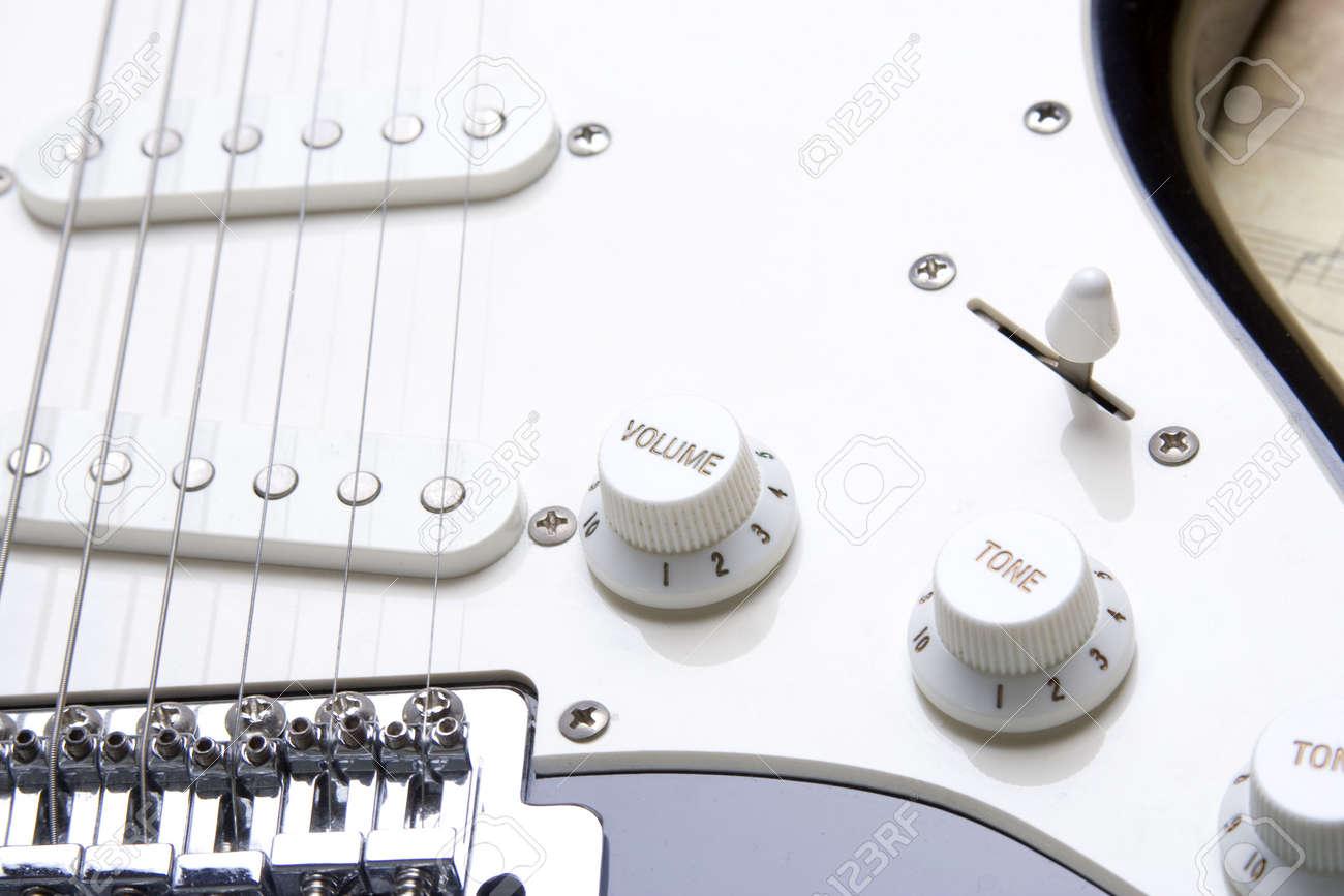 Guitar volume Stock Photo - 6592213