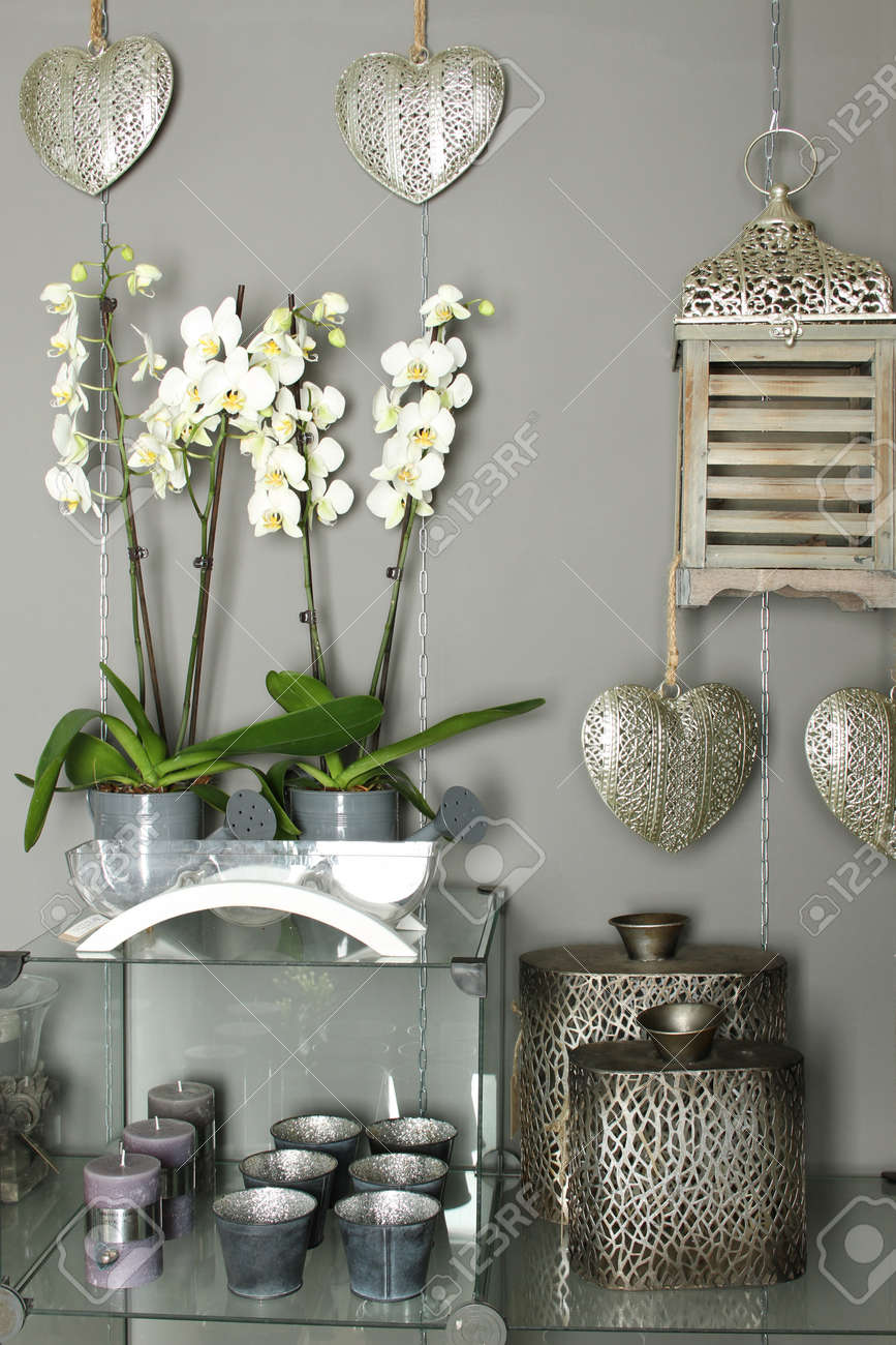 Home Decor Objects Stock Photo