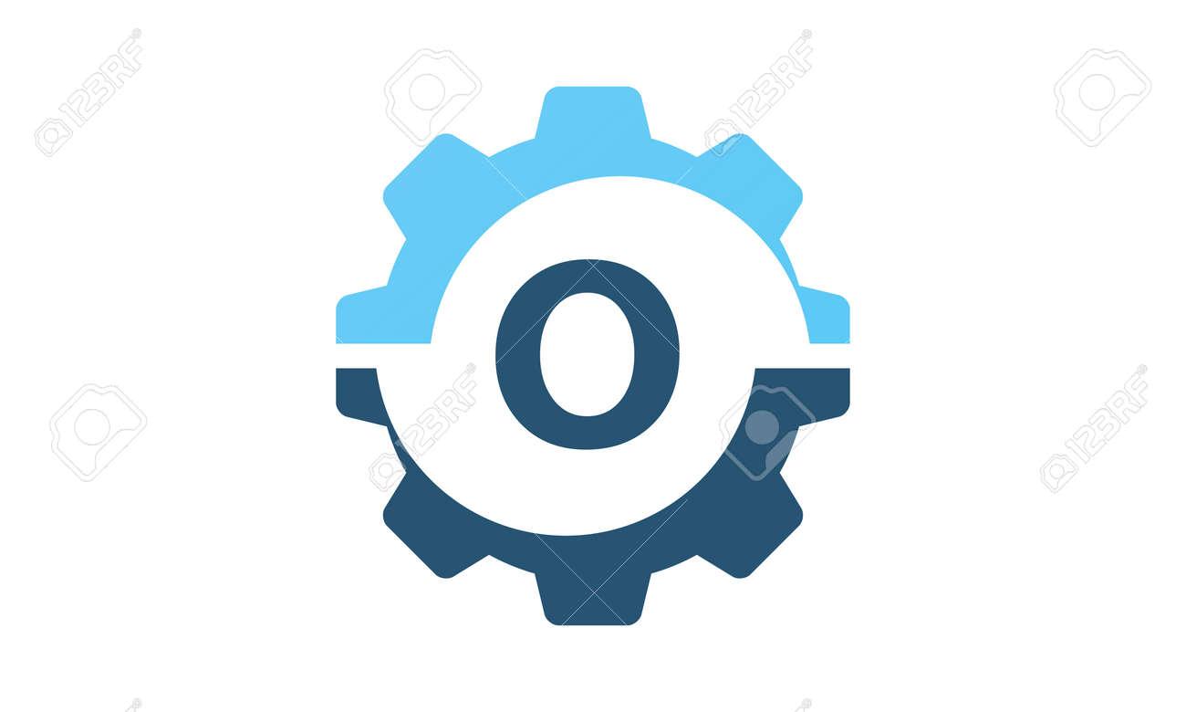 Gear Solution Logo Initial O - 77674745
