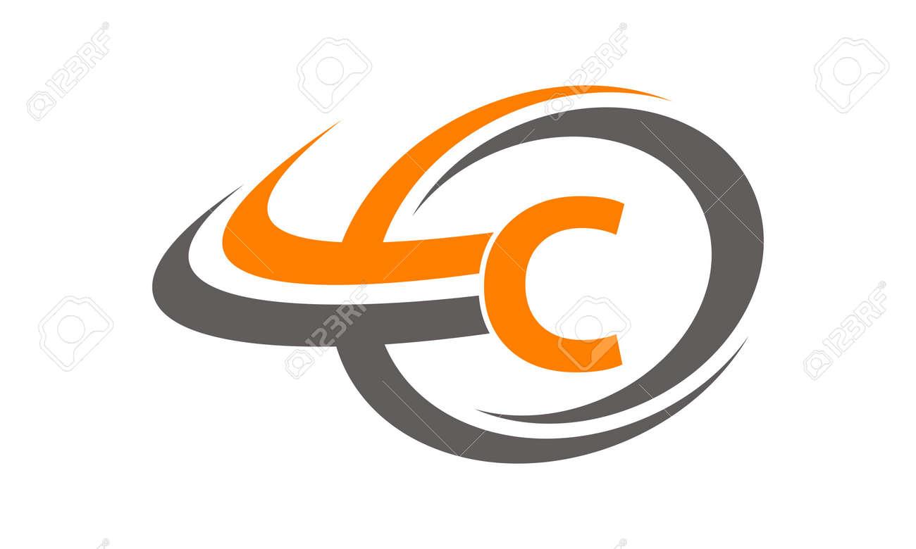 Swoosh Center Letter C - 78589669