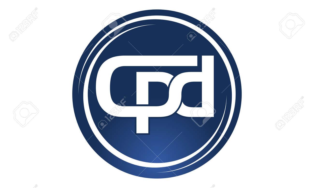 Letter CPD Logo Design Template Vector Illustration Good For ...