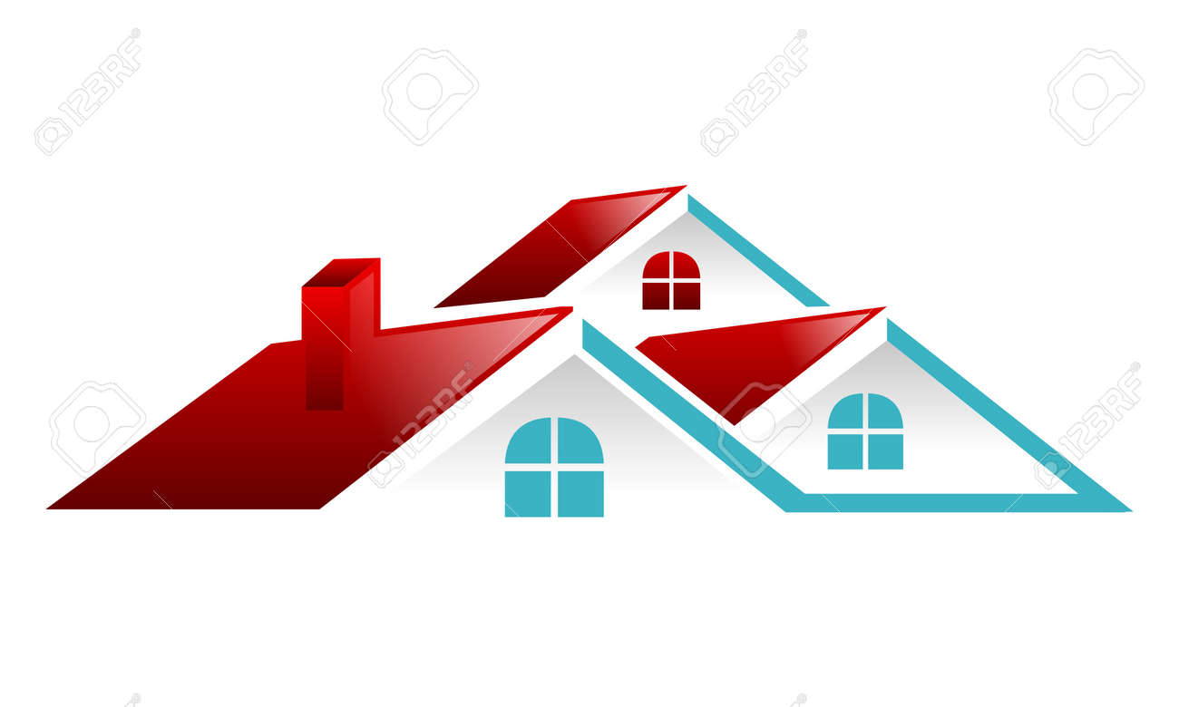 Real Estate Roof Vector - 90876109