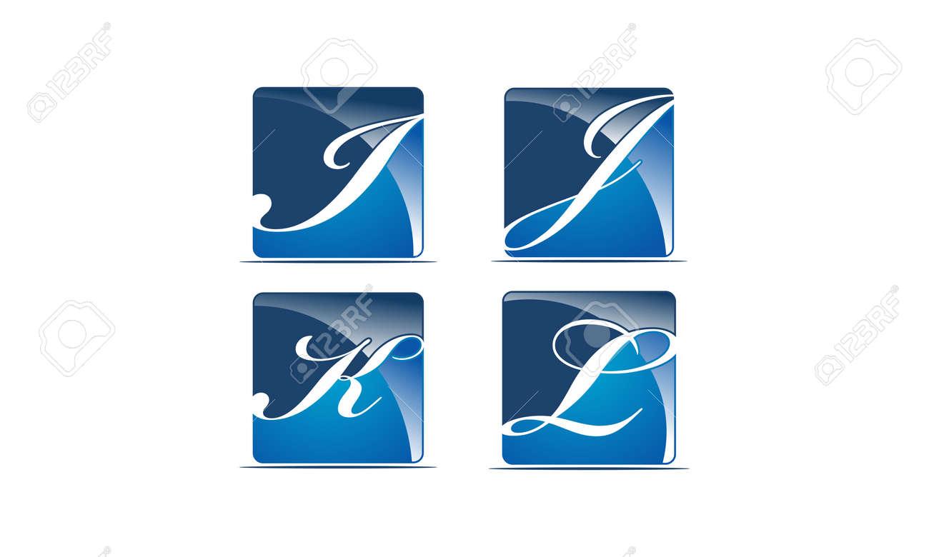 Logotype Modern Template Set - 104505038