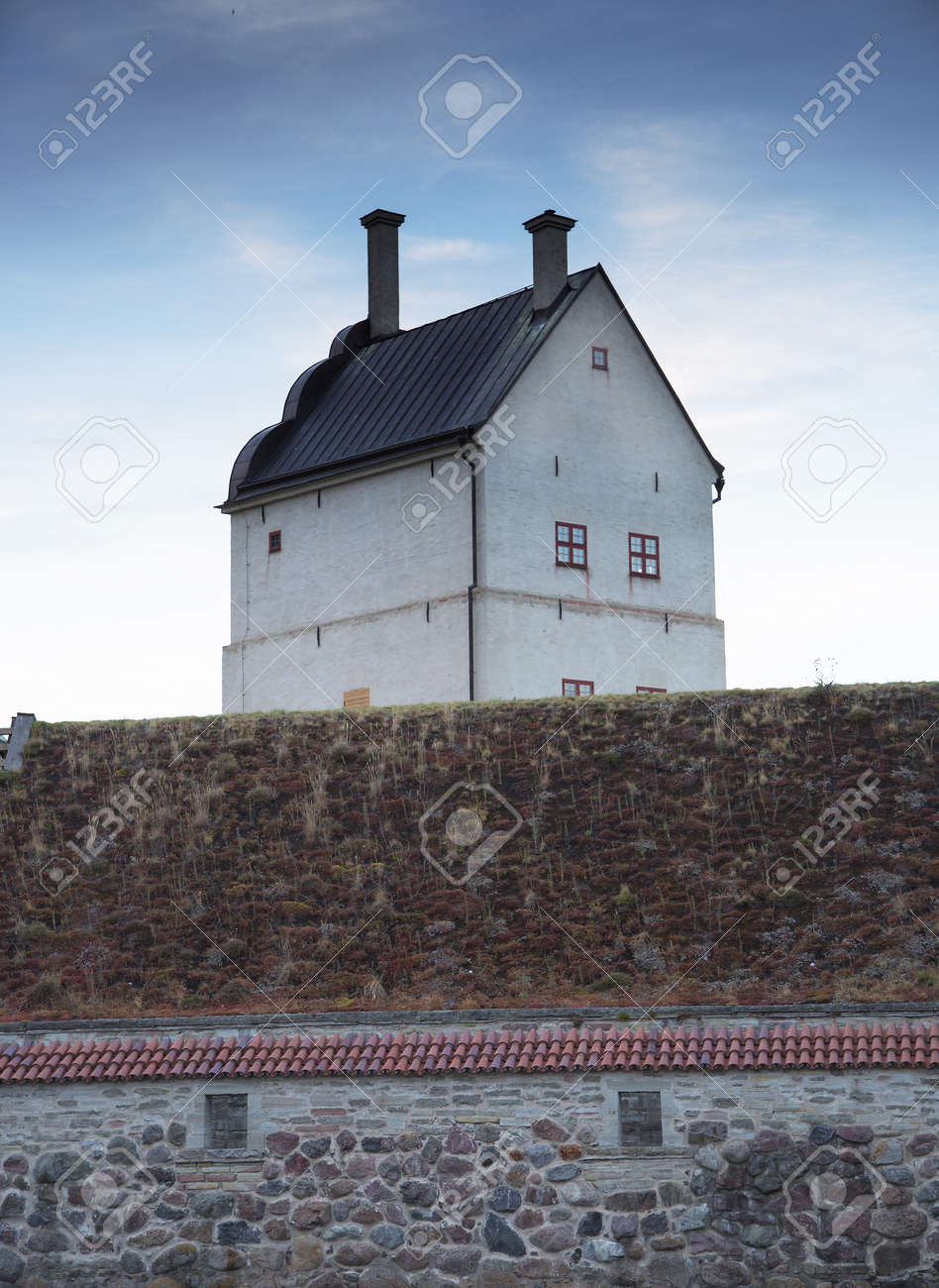 stock photo vadstena sweden july 26 2016 vadstena castle is a castle complex was built as fortification of gustav vasa in the 1500s in the southwestern