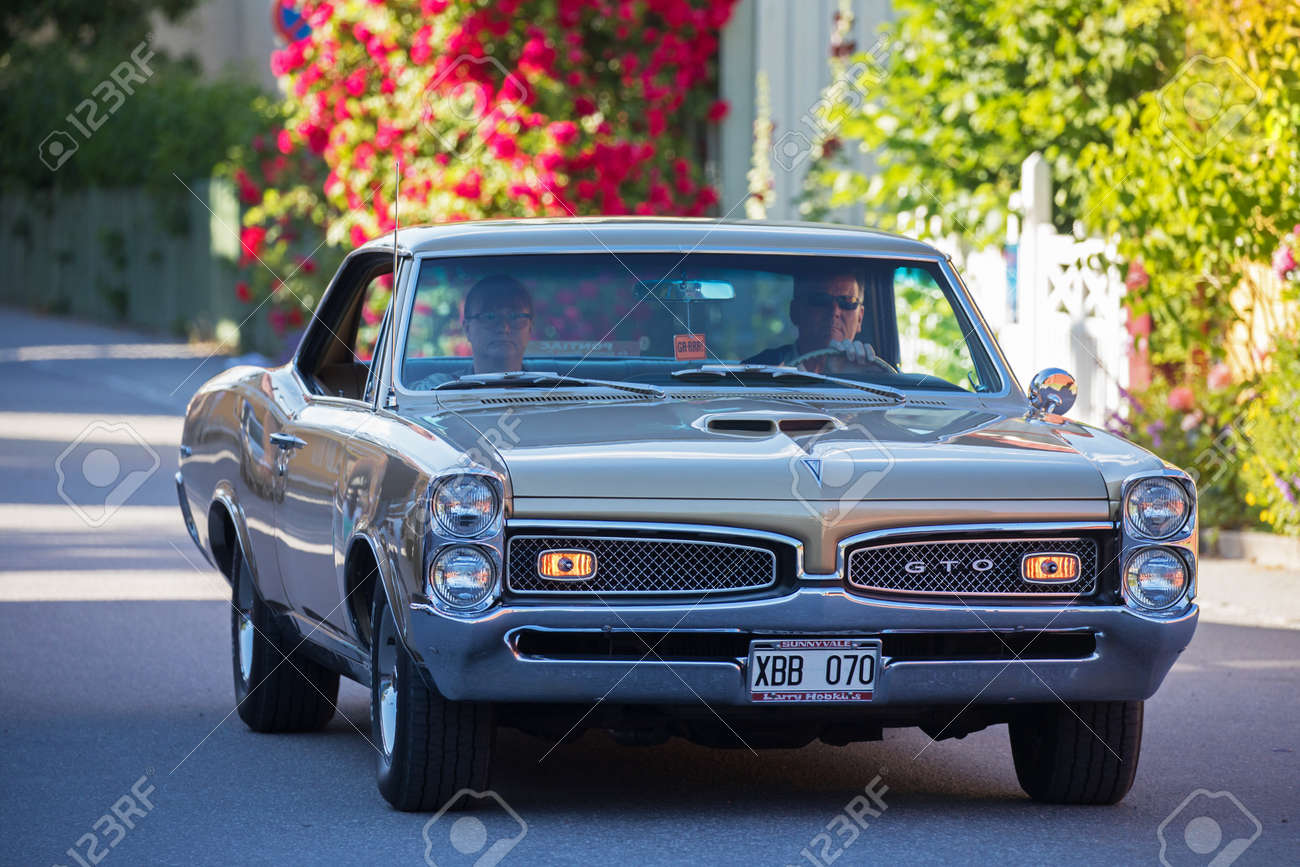 Trosa Sweden July 20 2017 Pontiac Tempest Gto 1967 Driving Stock Photo Picture And Royalty Free Image Image 83898395