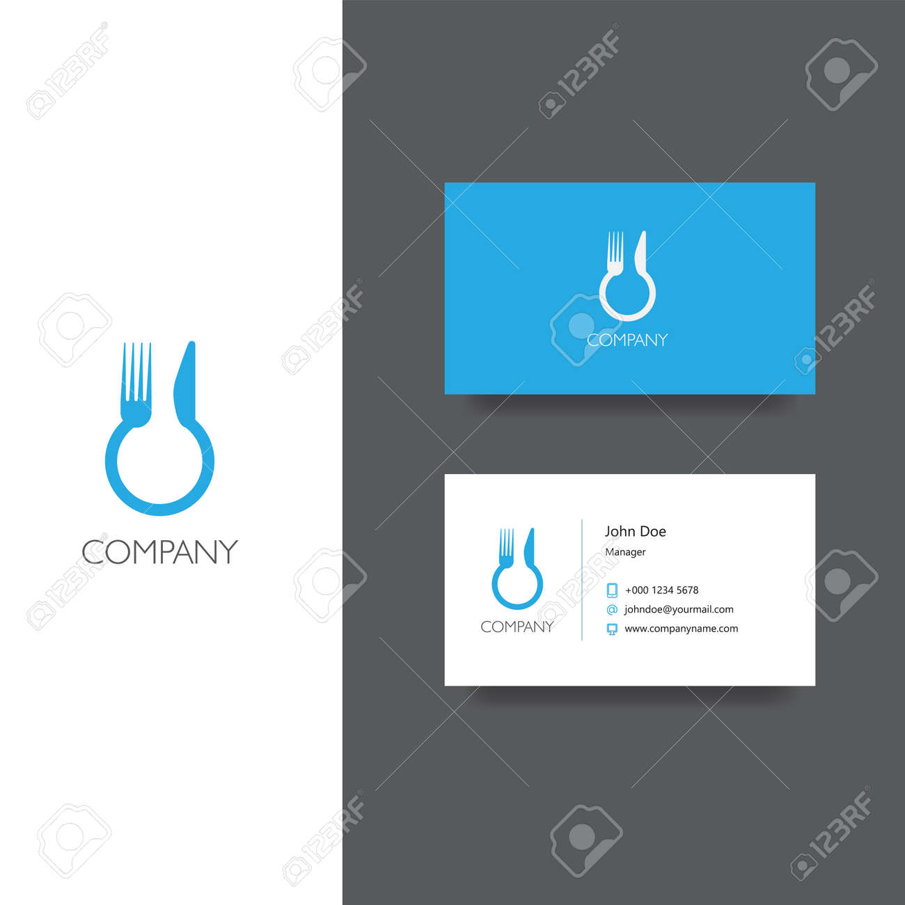 Vector eps logo for food delivery eat service or restoraunt vector eps logo for food delivery eat service or restoraunt company business card template colourmoves Choice Image
