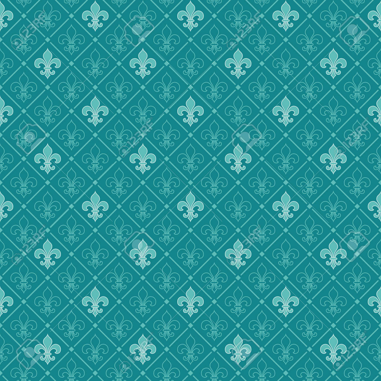 Turquoise Vector Background Royalty Free Cliparts Vectors And