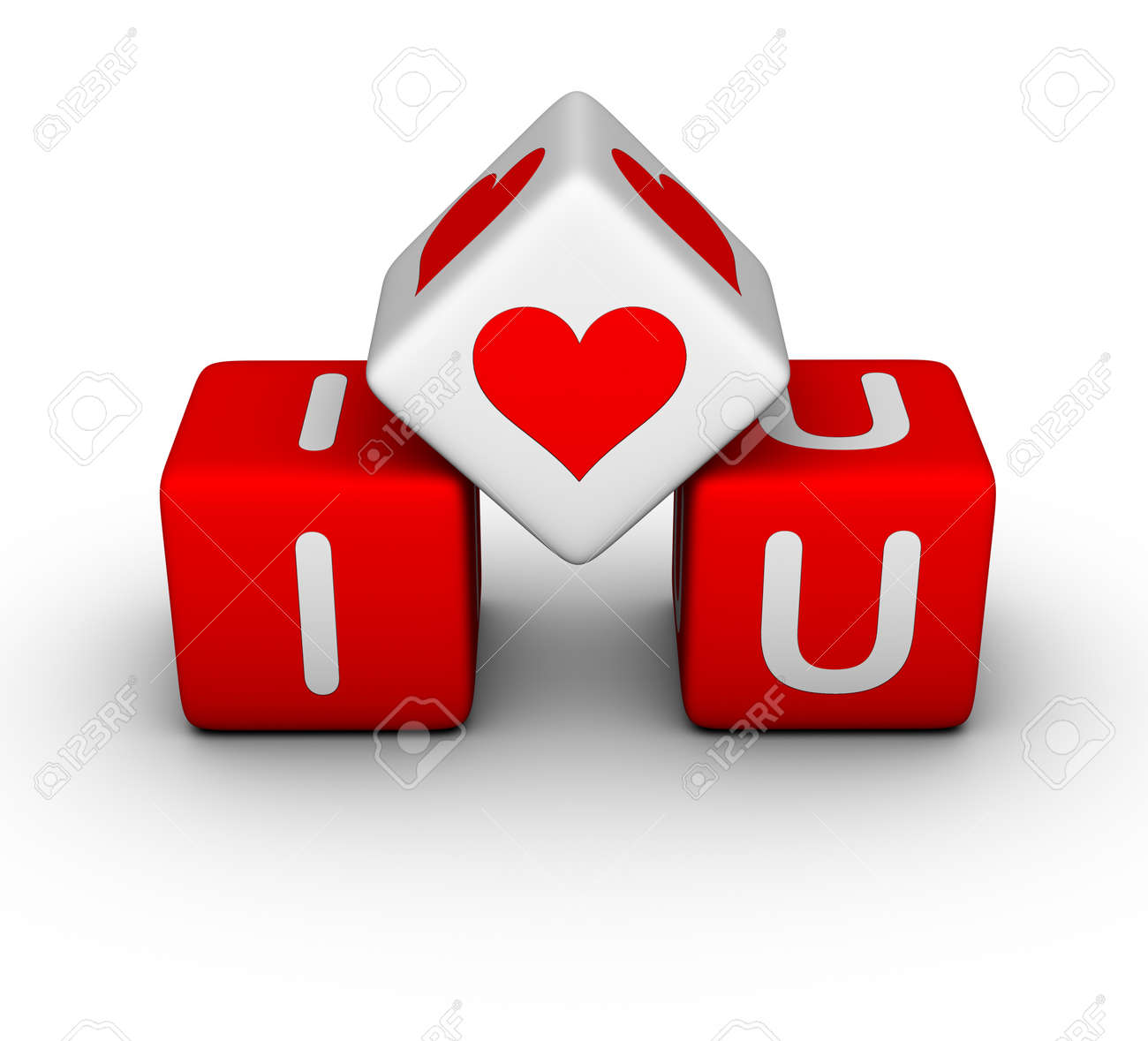 i love you (valentines day symbol) stock photo, picture and royalty