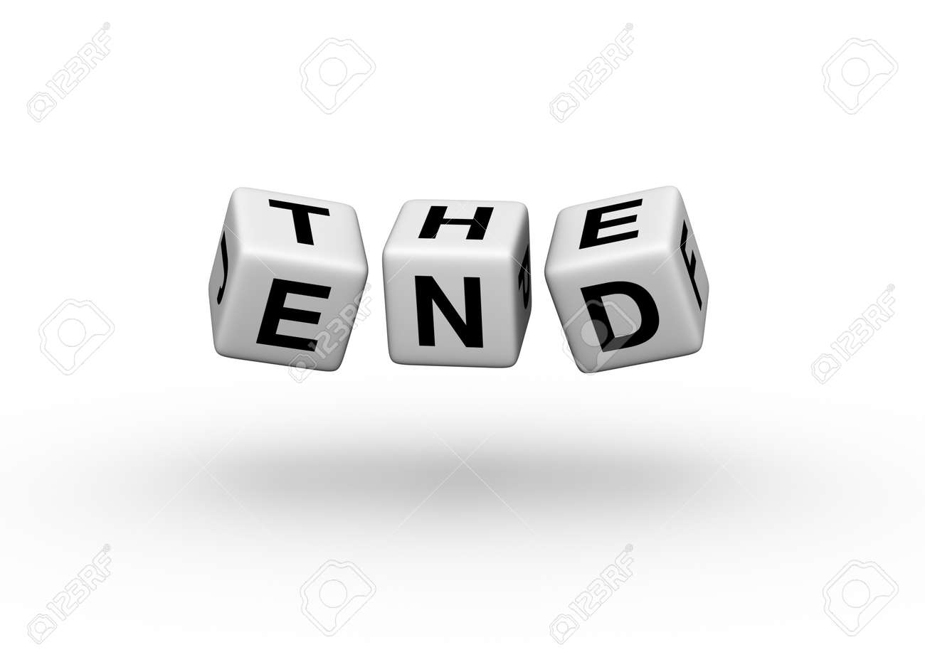The End Stock Photo - 8720529