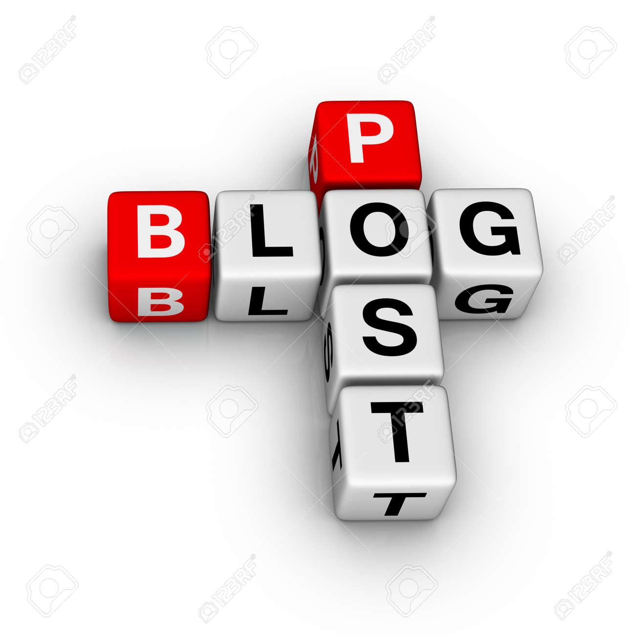 blog post Stock Photo - 9609652
