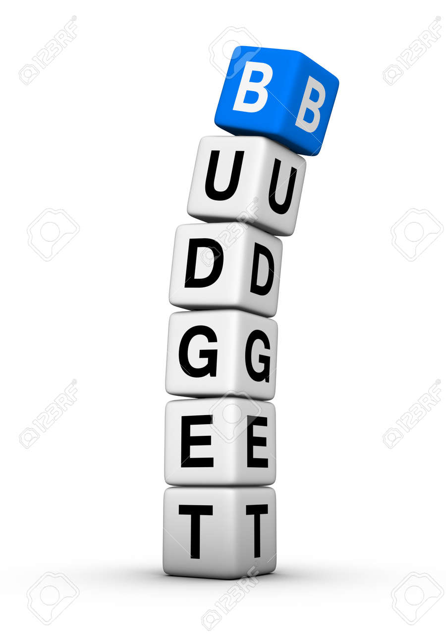 budget breakdown Stock Photo - 9713539