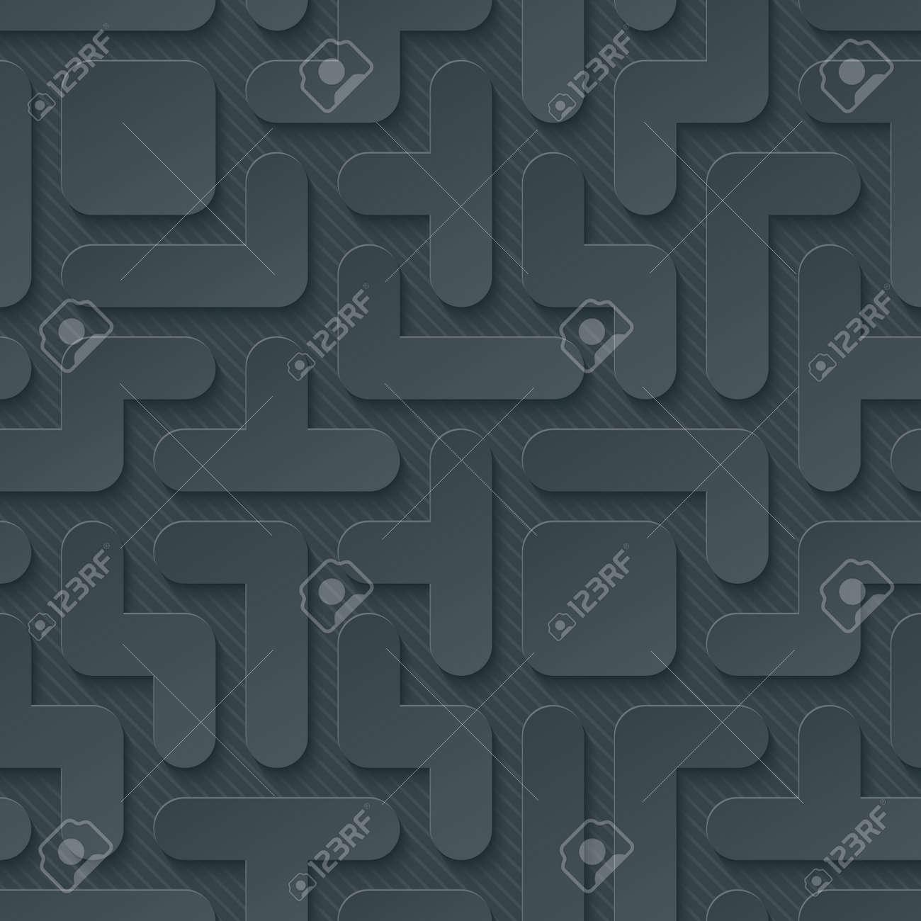 Tetris Wallpaper 3d Seamless Background Vector Eps10 Royalty Free