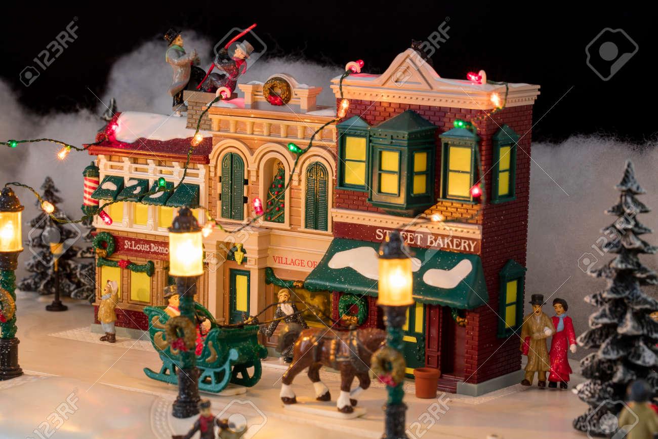 Casas Navidad Top Decoracion De Navidad With Casas Navidad Latest