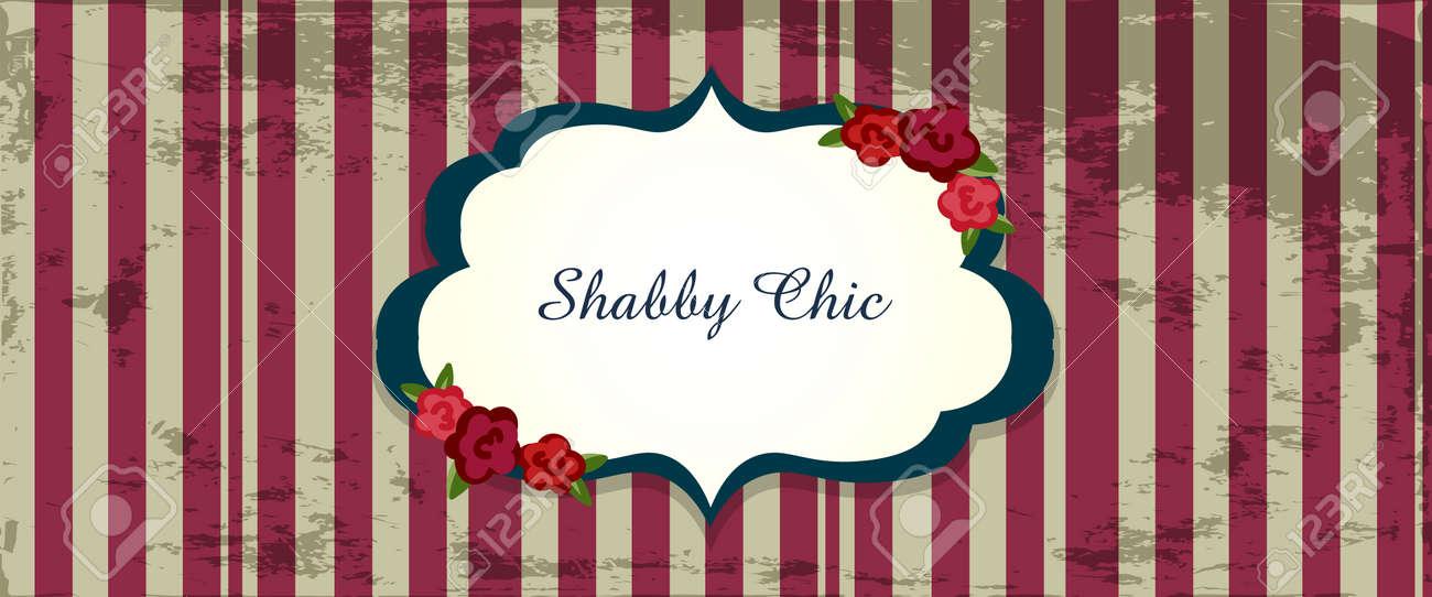 Shabby Chic. Congratulations Card. Template For Wedding Invitation ...