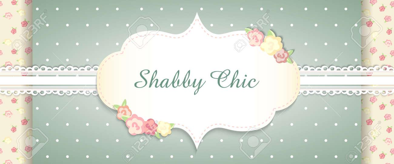 Shabby Chic. Congratulations Card. Template For Wedding Invitaion ...