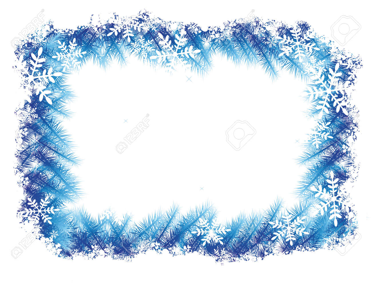 Winter Frame Stock Photo, Picture And Royalty Free Image. Image 4257803.
