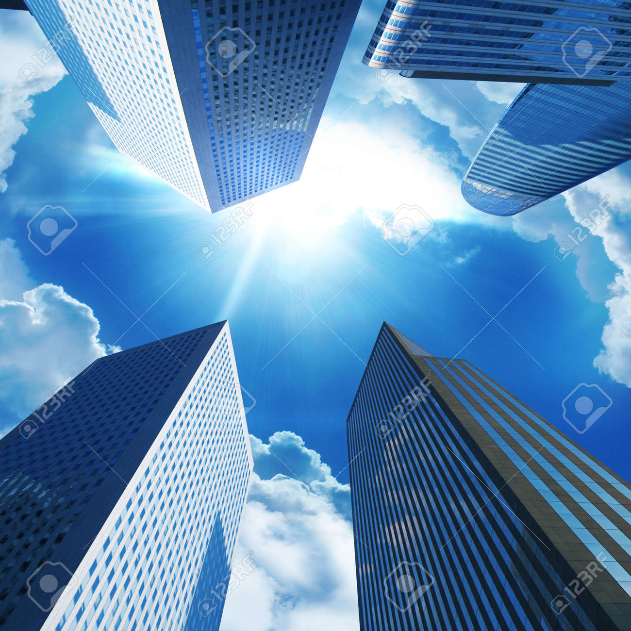 Modern office buildings Stock Photo - 9014066