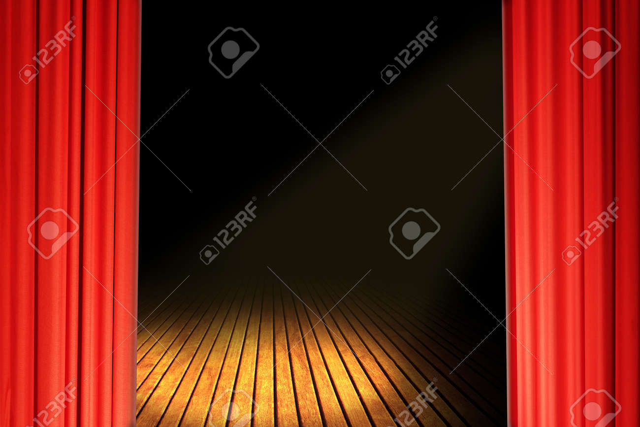 Theater Stage Stock Photo - 12772096