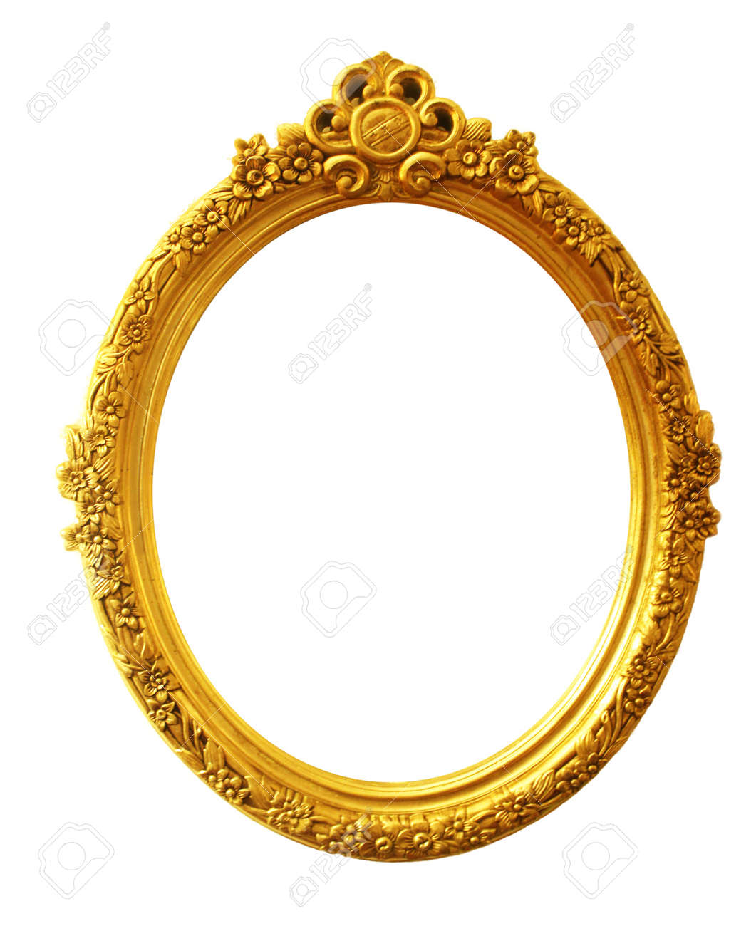 Old Antique Gold Frame Stock Photo, Picture And Royalty Free Image ...