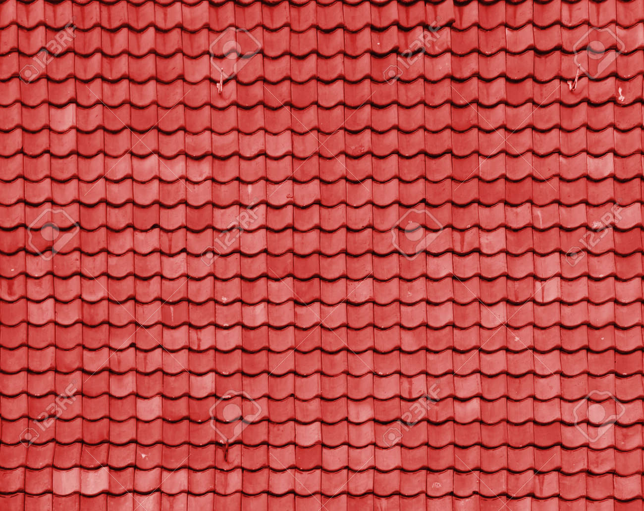 Brick Roof Texture red brick roof stock photo, picture and royalty free image. image