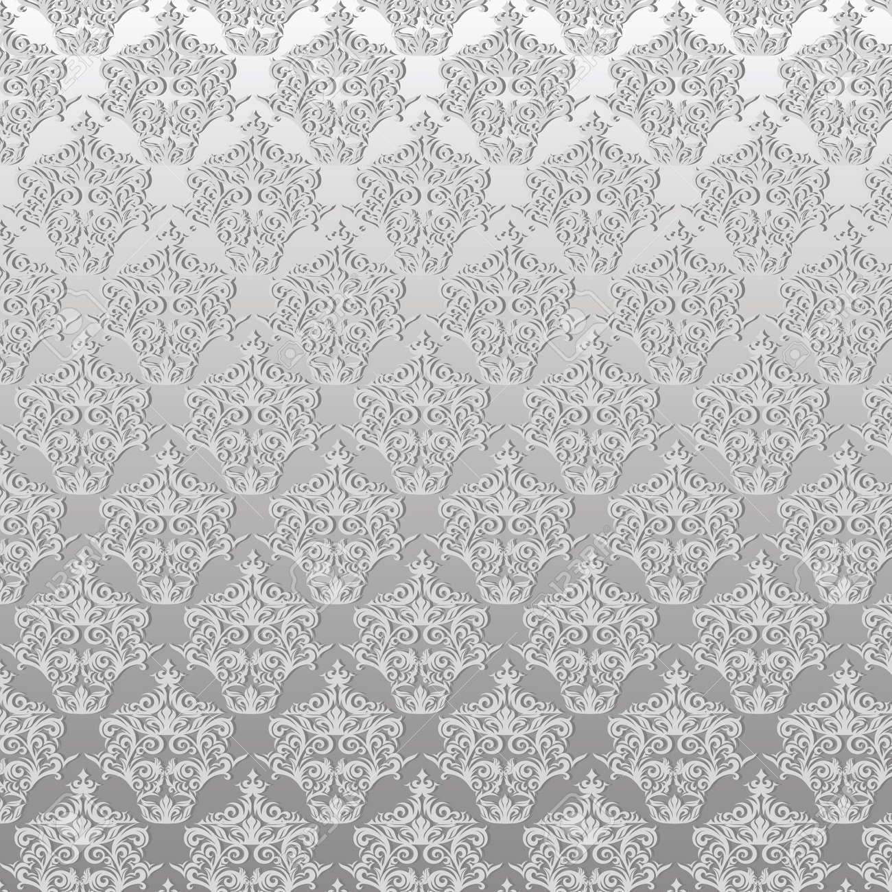 Damask seamless floral pattern Stock Photo - 18198514