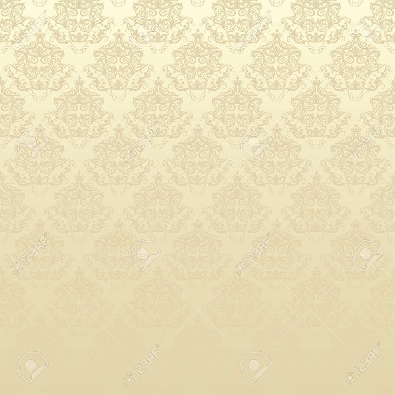 Damask seamless floral pattern Stock Photo - 18198513