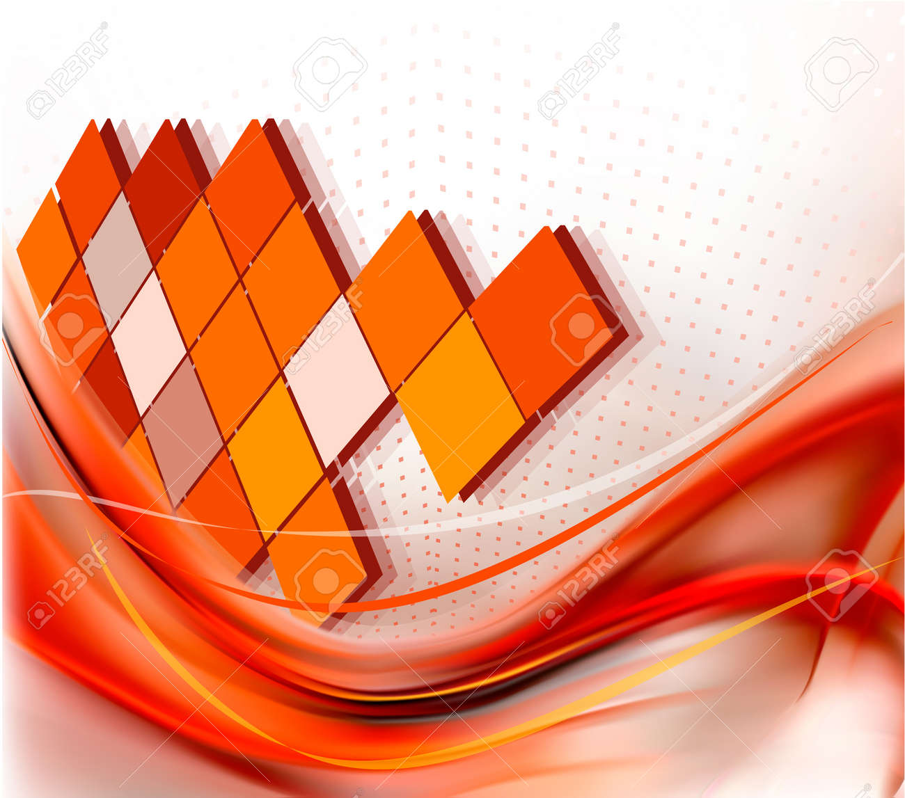 Business elegant abstract background - 13227075