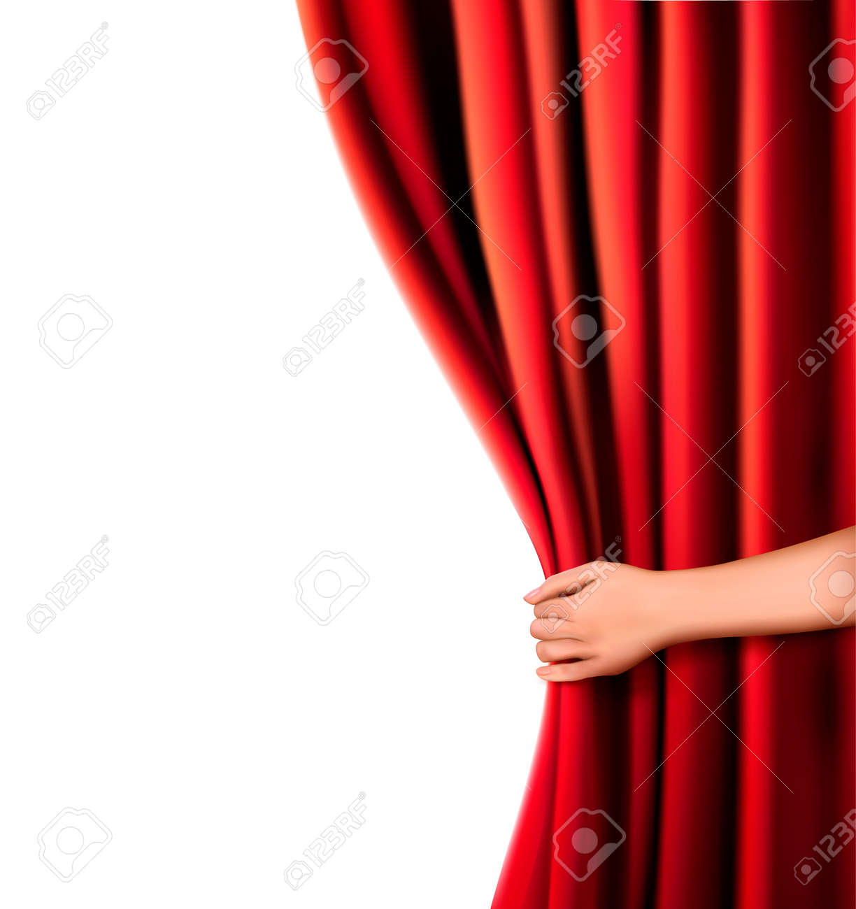 Theatre curtains png - Stage Curtains Clipart Png