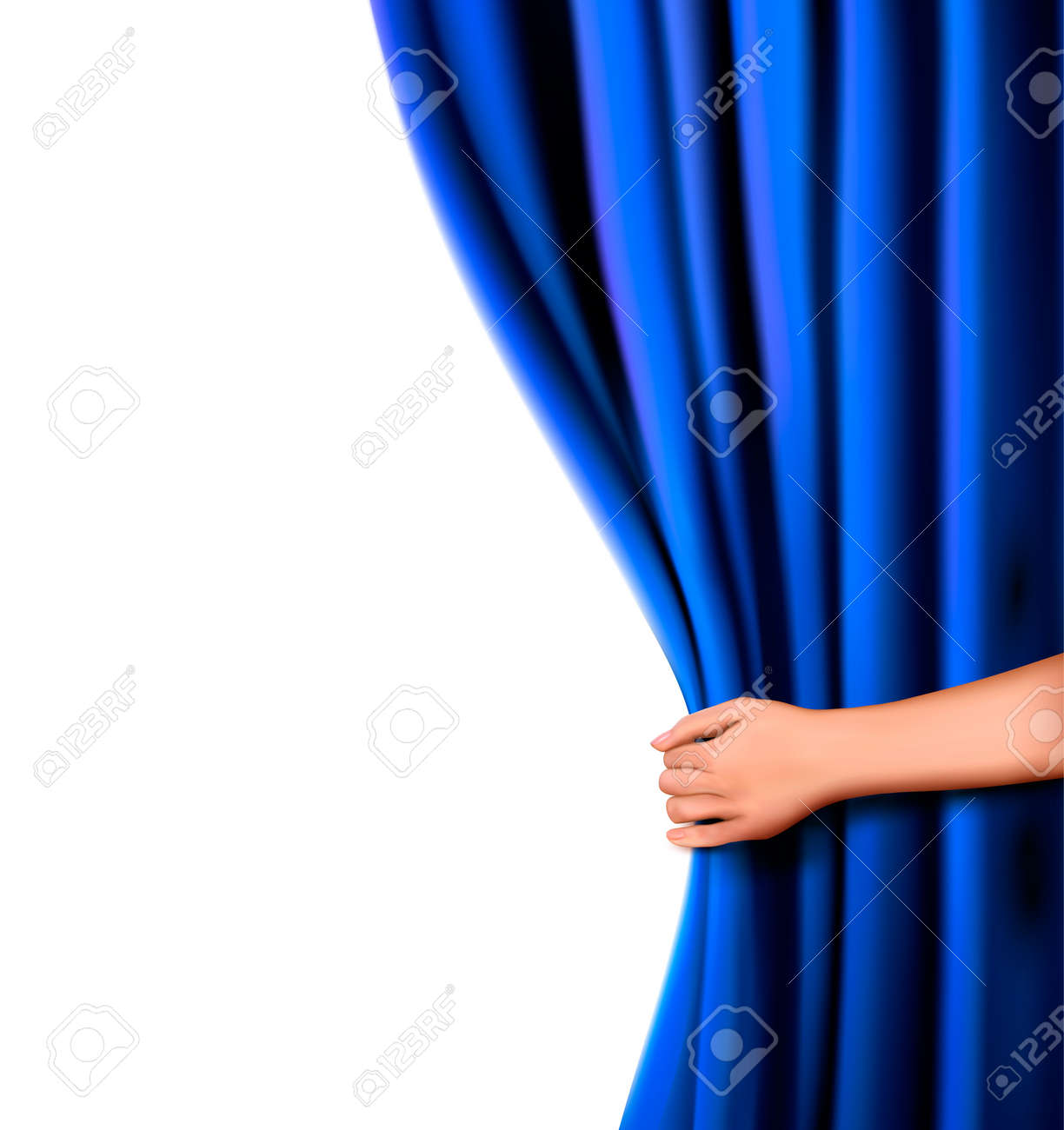 Blue curtain backdrop - Light Blue Stage Curtain Blue Curtain Backdrop Blue Stage Curtain Background Curtain Stage Background With