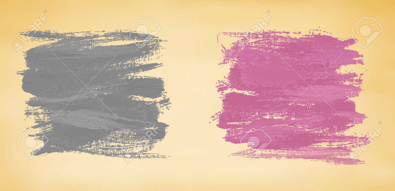 Abstract banners with watercolor splashes. Vector Stock Vector - 18960100