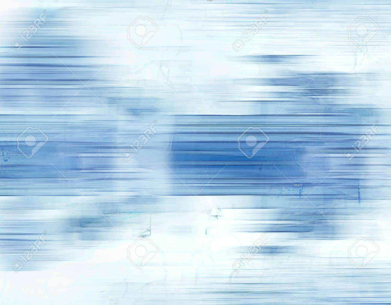 Texture with blue lines in motion, light tones, could be useful as a background. - 9514724