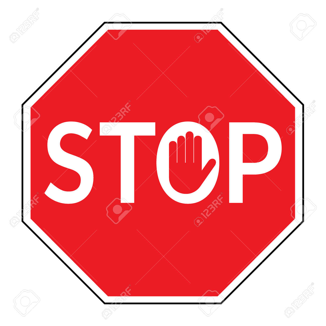 Traffic signs stock photos royalty free business images stop sign traffic stop sign isolated on white background red octagonal stop sign for biocorpaavc