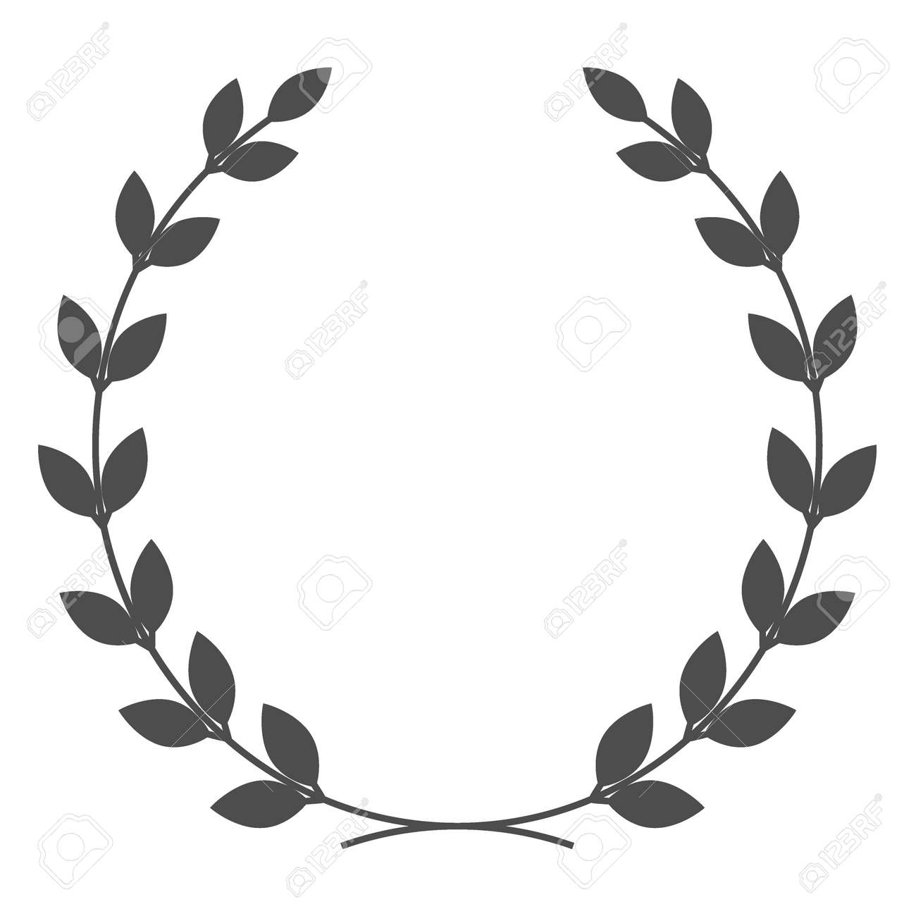 A laurel wreath symbol of victory and achievement design element a laurel wreath symbol of victory and achievement design element for construction of medals buycottarizona Image collections