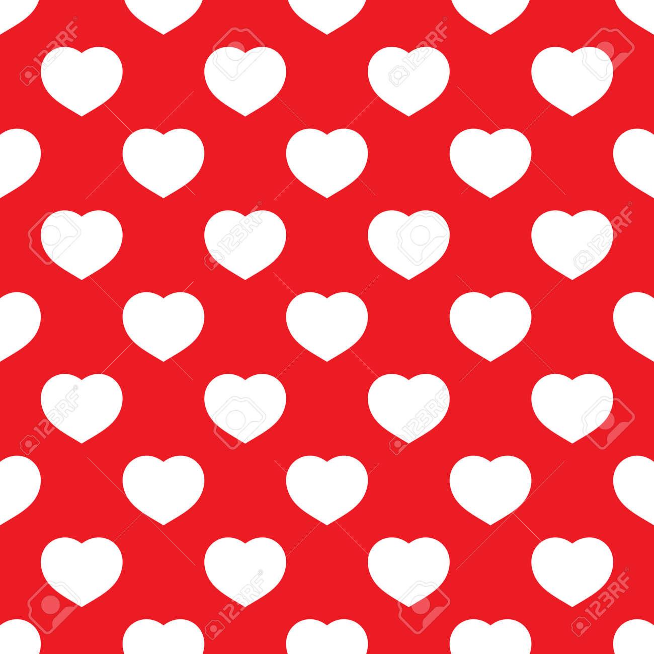 Asombroso Patrones Que Hacen Punto Libre De Corazón Rojo Viñeta ...