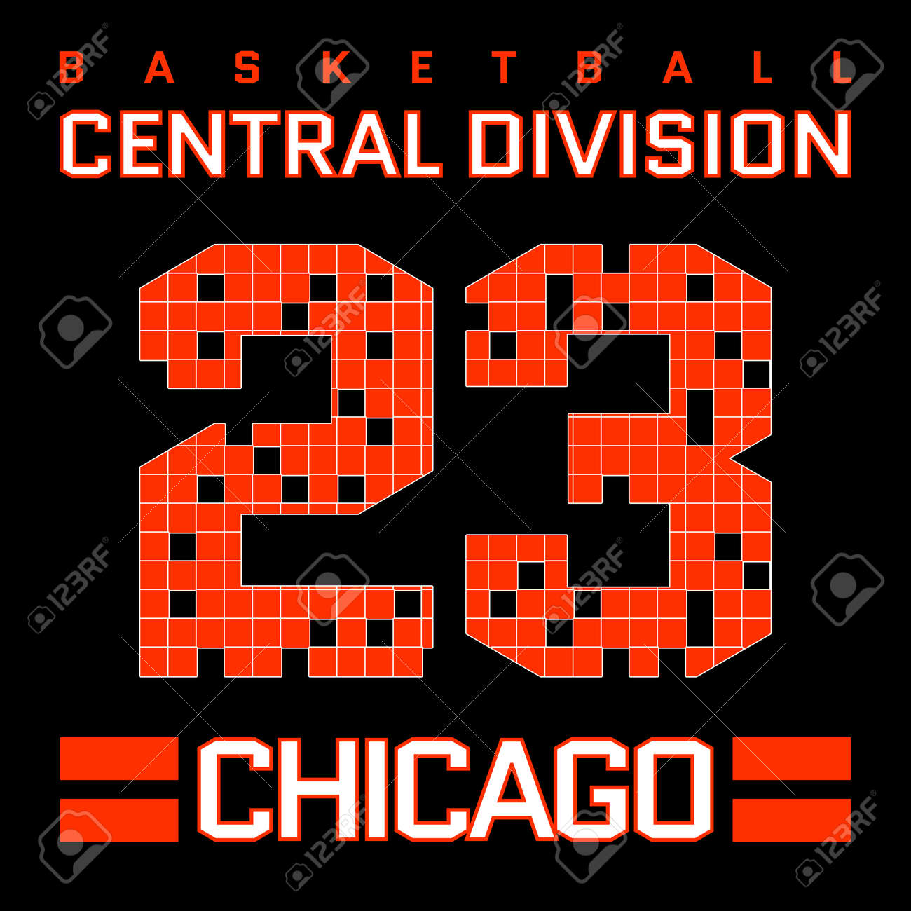 75184bb4 Basketball Chicago Typography Graphics. Mans T-shirt Printing Design.  Fashion Print for sportswear