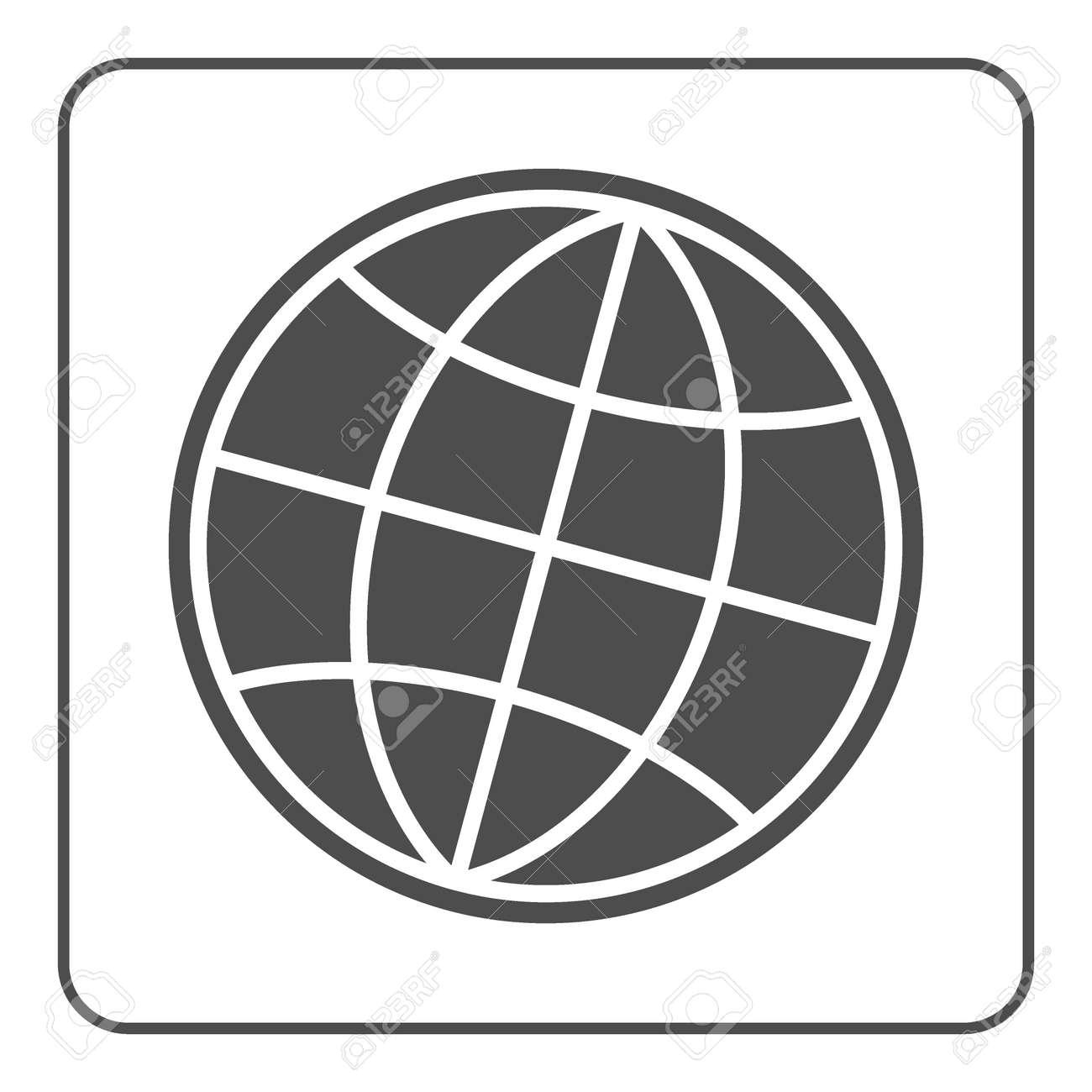 Earth globe icon global world sign symbol of network planet earth globe icon global world sign symbol of network planet geography gumiabroncs Images