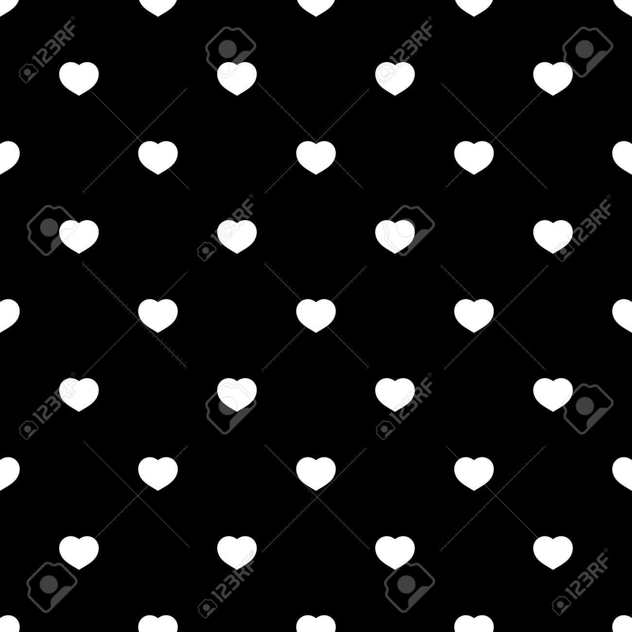 Must see Wallpaper Love Black And White - 50999258-white-hearts-seamless-pattern-on-black-background-fashion-love-graphics-design-modern-stylish-textur  Best Photo Reference_4857.jpg