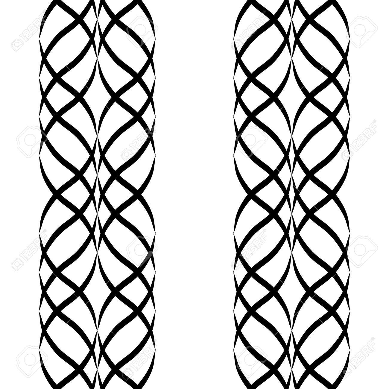 Patrón Transparente Con La Onda árabe. Diseño Tradicional De Oriente ...