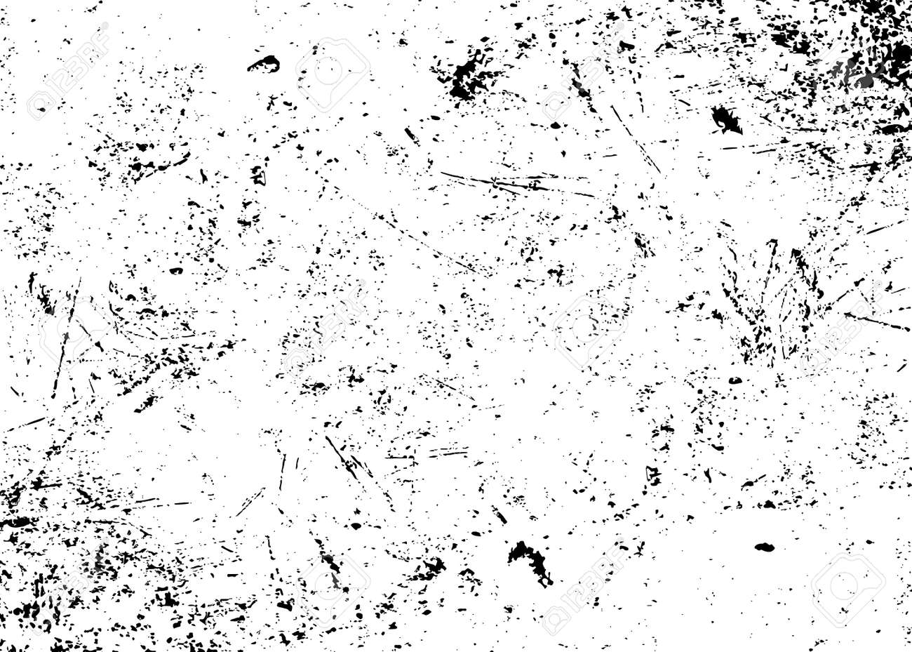 Grunge texture white and black. Sketch abstract to Create Distressed Effect. Overlay Distress grain monochrome design. Stylish modern background for different print products. Vector illustration - 52490394
