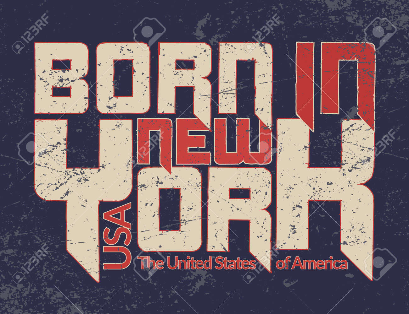 new york city typography graphic quote grunge fashion stylish